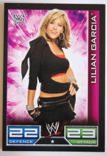 WWE Diva Lilian Garcia Euro 2008 Slam Attax Wrestling