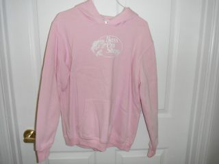 Bass Pro Shop Hoodie Pink Size Small Preowned