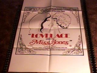 Linda Lovelace Meets Devil in Miss Jones Movie Poster