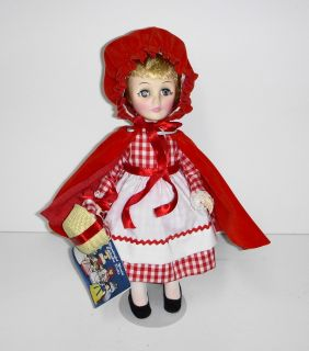 Storybook Little Red Riding Hood 1178 Doll Effanbee