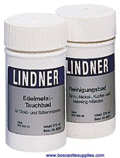 Lindner Coin Cleaning DIP for Copper Nickel Brass Coins