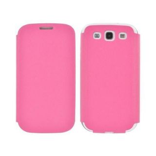 Hot Pink Geeks Protection Line Snazzy Galaxy S3 Diary Flip Case w Card