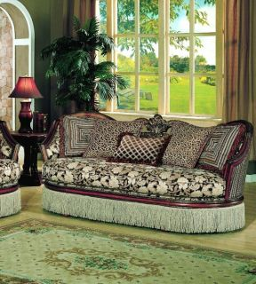 Inspired Sofa Couch with Accent Pillows Living Room Furniture