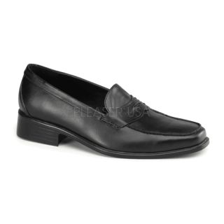 Michael Jackson Costume Shoes Popstar 09 Slip on Penny Loafer in Black