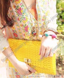 Fashion Retro Chain Colorful Heart Lockets Necklace