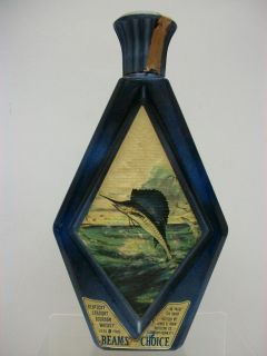 James Lockhart Sailfish Bottle Jim Beams Choice Collectors Edition
