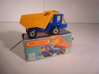Vintage Lesney Matchbox Atlas Truck Dump Tipper 23