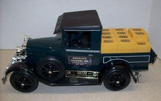 Angelos Liquors 1929 Ford Pickup TK Jim Beam Decanter