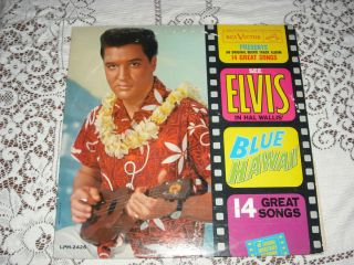 Elvis Presley Blue Hawaii 1962 Stereo RCA 2426 VG