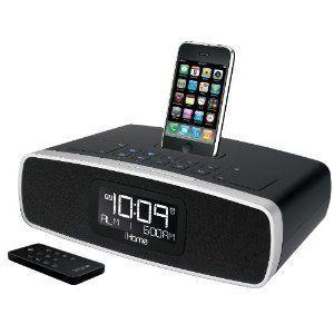iHome IP92 IP92BZ Dual Alarm Clock Radio for iPod Black