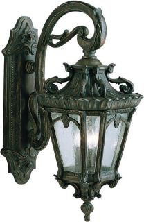 Kichler 9358LD Londonderry Rustic Country 3 Light Outdoor Wall Sconce