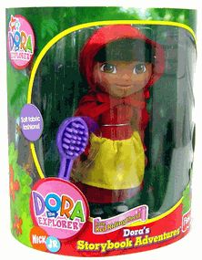 Dora Doras Storybook Adventures Little Red Riding Hood