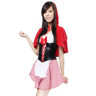 Adult Halloween Little Red Riding Hood Costume M Size