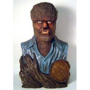 Universal Monsters Lon Chaney Jr as The Wolfman Bust Bank