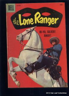1958 Dell Comic Book Lone Ranger 112 Photo Cover 1st Clayton Moore