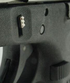 Lone Wolf Glock Extended Slide Lock Lever Chrome Esll