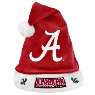 NCAA Football 2012 Team Logo Plush Christmas Santa Hat Pick Your Team