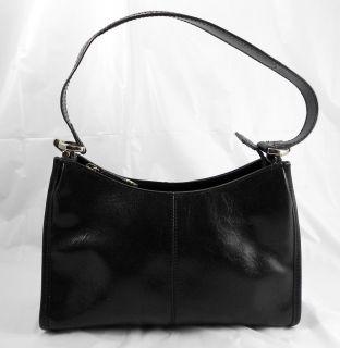 Liz Claiborne Purse Handbag Classic Black Zipper Pocket