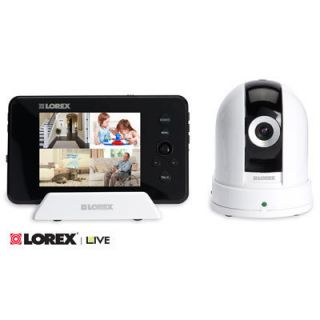 Lorex Live 3 5 in Digital Wireless Monitoring Recording System with