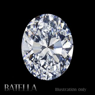 SI2 VG Oval Cut Certified Genuine Natural White Loose Diamond