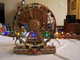 Ferris Wheel Mr Christmas Worlds Fair Ferris Wheel