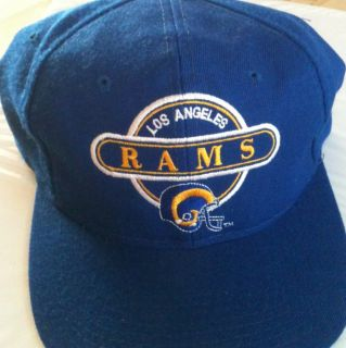Vintage NFL Los Angeles Rams Logo 7 Snapback One Size Fits All Free