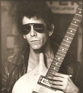 Lou Reed Photo Postcard Velvet Underground Warhol