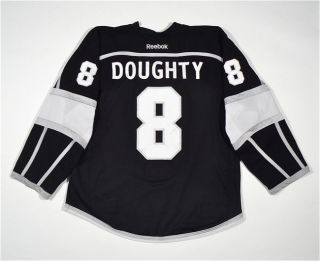 Drew Doughty Los Angeles Kings Game Worn Used 2012 Home Jersey Meigray
