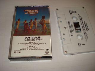 LOS BUKIS A DONDE VAS CASSETTE USADO 1985 PROFONO INTERNACIONAL INC