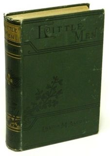 Little Men by Louisa May Alcott Very Good Illustrated 1903 Edition