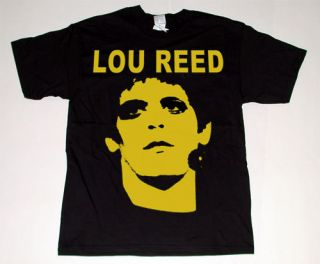 Lou Reed T Shirt Sz Med Rock Animal Velvet Underground