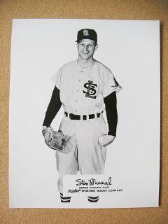 Sporting Goods Advisory Staff Stan Musial St Louis Cardinals B