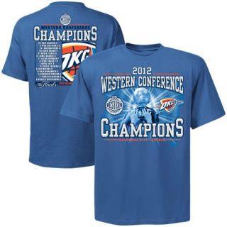 OKC Thunder 2012 NBA Western Conference Champions T Shirt