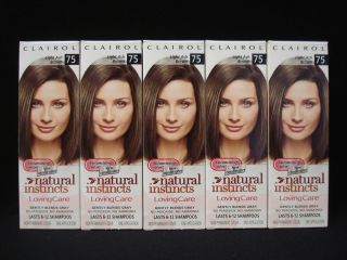 Volumizing Natural Instincts Loving Care Hair Color Light Ash Brown 75