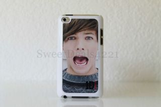 Louis Tomlinson White Apple iPod Touch 4th Gen Case 8 32 64 GB One