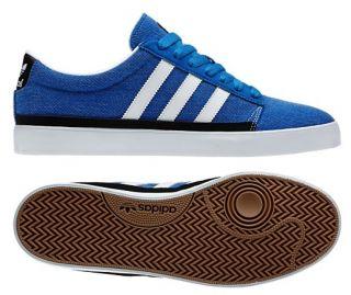 New Adidas Originals Mens Rayado Low Retro Blue White Campus Vulc