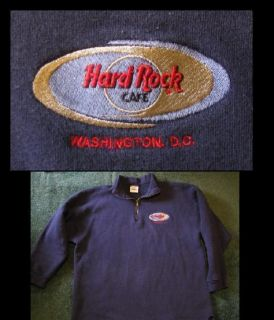 Sweatshirt Hard Rock Cafe Washington DC Embroidered