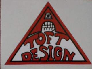 LONNIE TOFT DESIGN VINYL DECAL STICKER SKATEBOARD SIMS ZORLAC