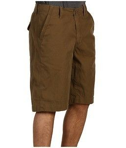Lucky Brand Jeans Griffi Faded Army Green Brown Khaki Chino Shorts