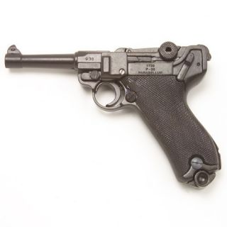 Luger P 08 Denix German Replica Gun Pistol New P08 WWII WWI NON FIRING