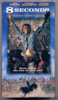Luke Perry 8 Seconds VHS New 794043427534