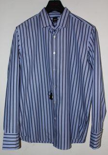 Hugo Boss Black Label Lucas Purple Striped Shirt