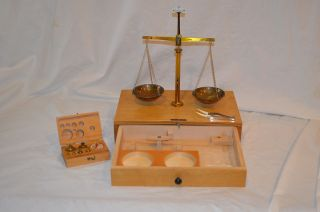 August Sauter Vintage Medical Scale West Germany N.Y. Inc. N.Y.C. U.S