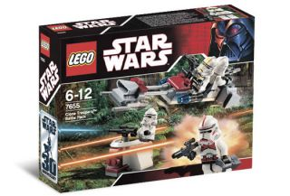 Lego Star Wars Clone Trooper Battle Pack Set 7655 New SEALED Shock