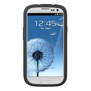Luxmo Black Silicone Soft Gel Case Cover for Samsung Galaxy S 3 III