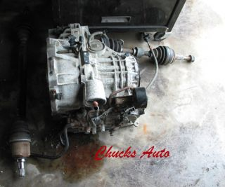 1997 Nissan Sentra Automatic Transmission CV Axles