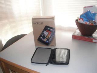 Kindle Fire with M Edge Case Bundle
