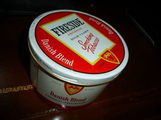 30 yr Mac Barens Macbarens Fireside Pipe Tobacco Tin SEALED Unopened