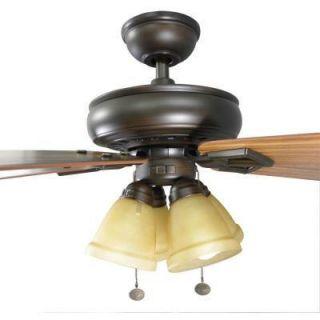 Hampton Bay Lyndhurst 52 in Venetian Bronze Indoor Ceiling Fan