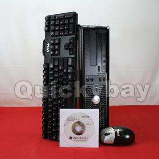 Fast Dell Optiplex 755 Refurbished Desktop Core 2 Duo 2GB 1TB Windows